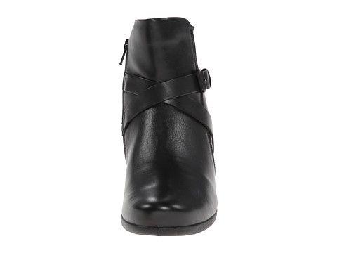 ECCO Abelone Cross Buckle Boot Black - Zappos.com Free Shipping BOTH Ways