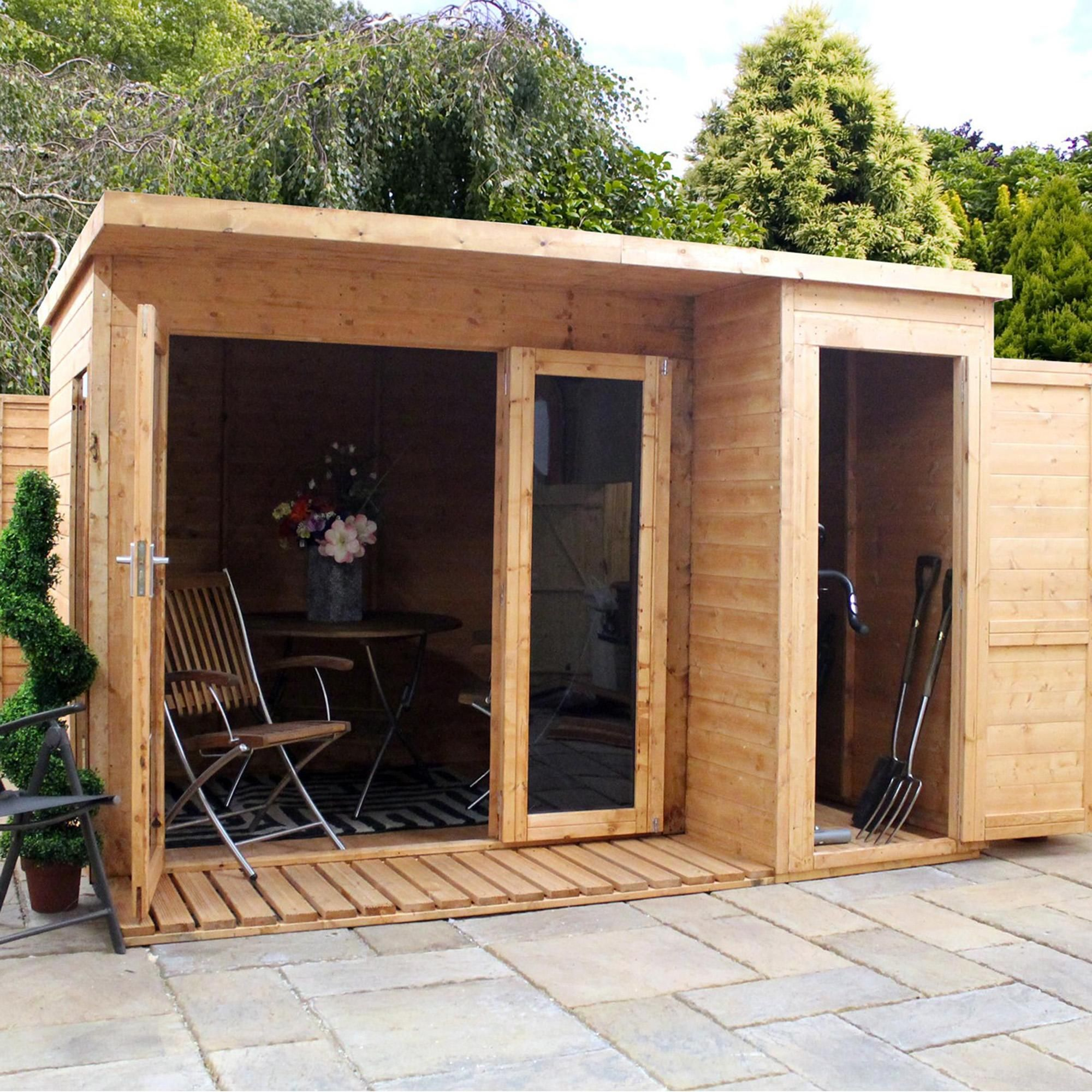 8ft X 10ft Winchester Wooden Garden Room In 2020 Summer House Garden Shed Homes Summer House