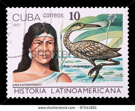 Anacaona (Haiti) and Aramus guarauna, series History of Latin America, stamp printed in Cuba, circa 1987 #historyofcuba Anacaona (Haiti) and Aramus guarauna, series History of Latin America, stamp printed in Cuba, circa 1987 #historyofcuba Anacaona (Haiti) and Aramus guarauna, series History of Latin America, stamp printed in Cuba, circa 1987 #historyofcuba Anacaona (Haiti) and Aramus guarauna, series History of Latin America, stamp printed in Cuba, circa 1987 #historyofcuba Anacaona (Haiti) and #historyofcuba