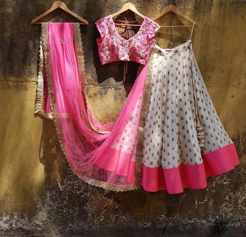 White Wedding Dress Mumbai: Mumbai Lehenga Shopping Guide