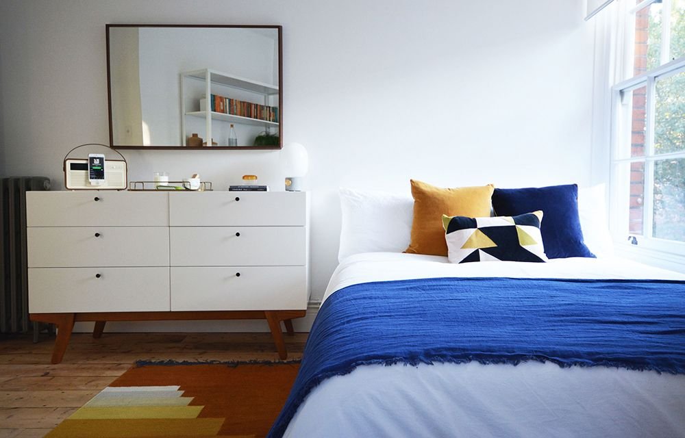 Flat 15's East London Blue Bedroom | west elm