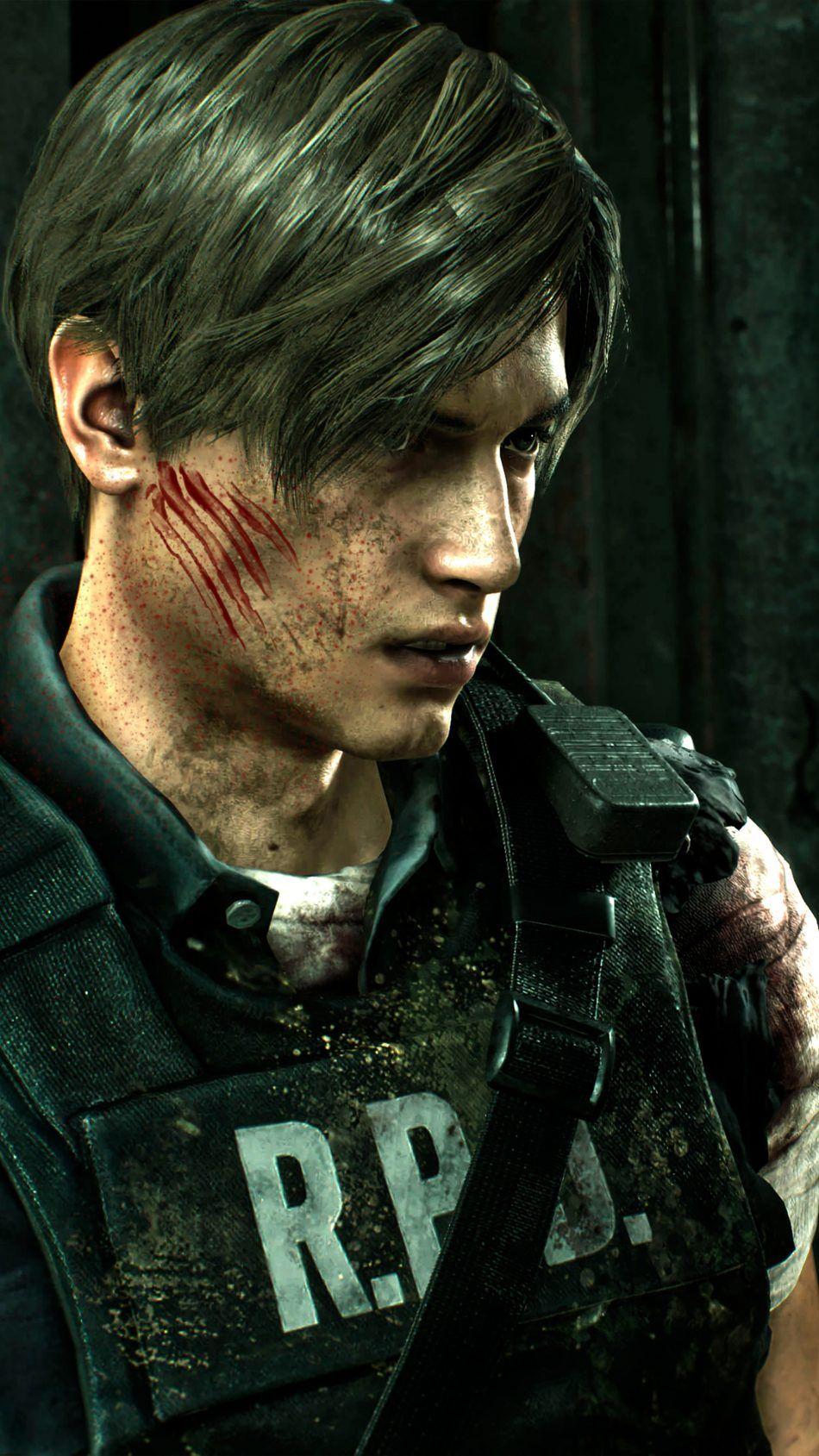 Leon S Kennedy Rpd Resident Evil 2 4k Ultra Hd Mobile Wallpaper Resident Evil Leon Resident Evil Girl Resident Evil