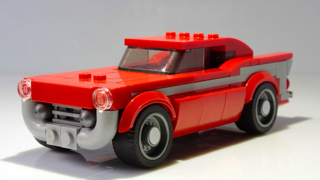 Lego Chevrolet Bel Air Speed Champions Styled Lego Chevrolet