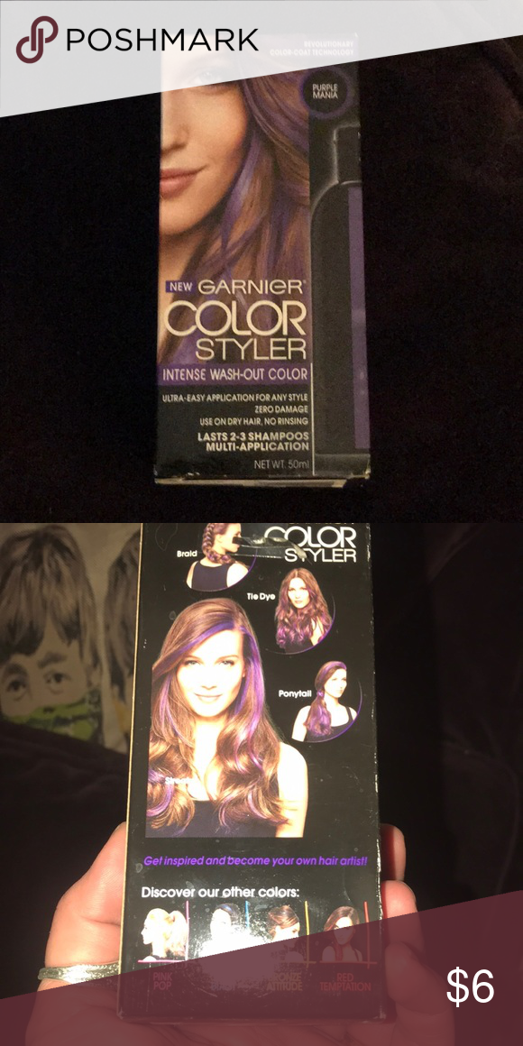 Garnier Color Styler Intense Wash Out Hair Color Hair Coloring