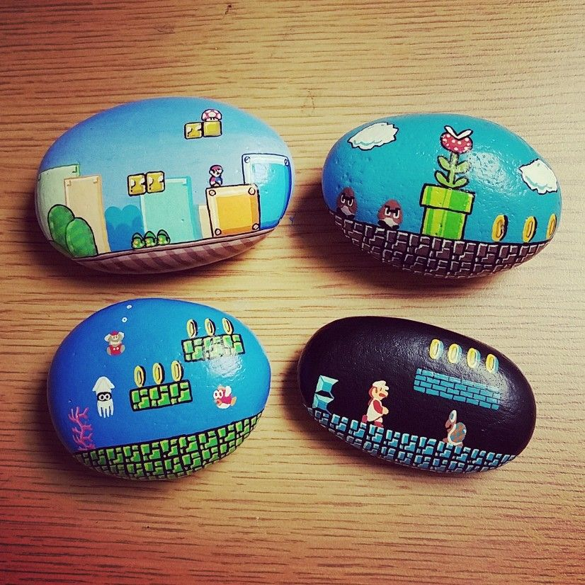 Rock Painting Seems To Be A Hot Trend Right Now And I Can See Why Its Fun Relaxing Great Craft For All Ages Tags Ideas Easy