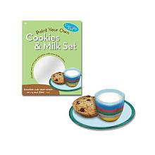 Paint Your Own Cookies and Milk Set