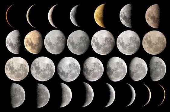 Luna llena 2 enero 2018 Cuarto menguante 8 enero 2018 Luna nueva 17 ...