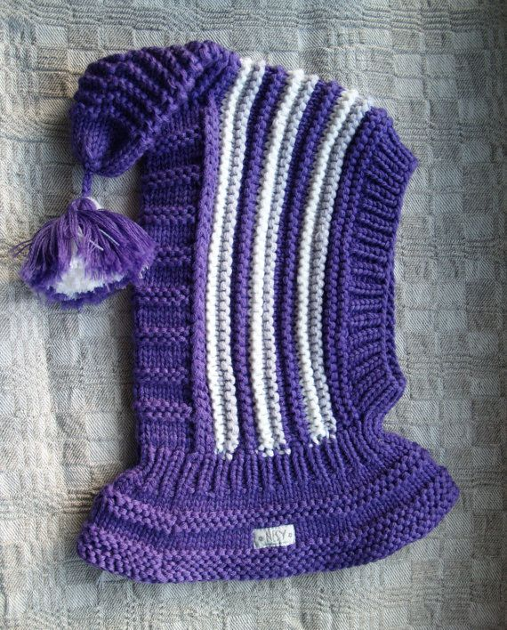 READY TO SHIP all sizes! Merino Balaclava, Baby/ Toddler Hoodie hat ...