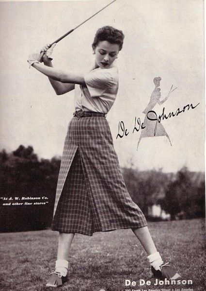 1920s Female Golfer