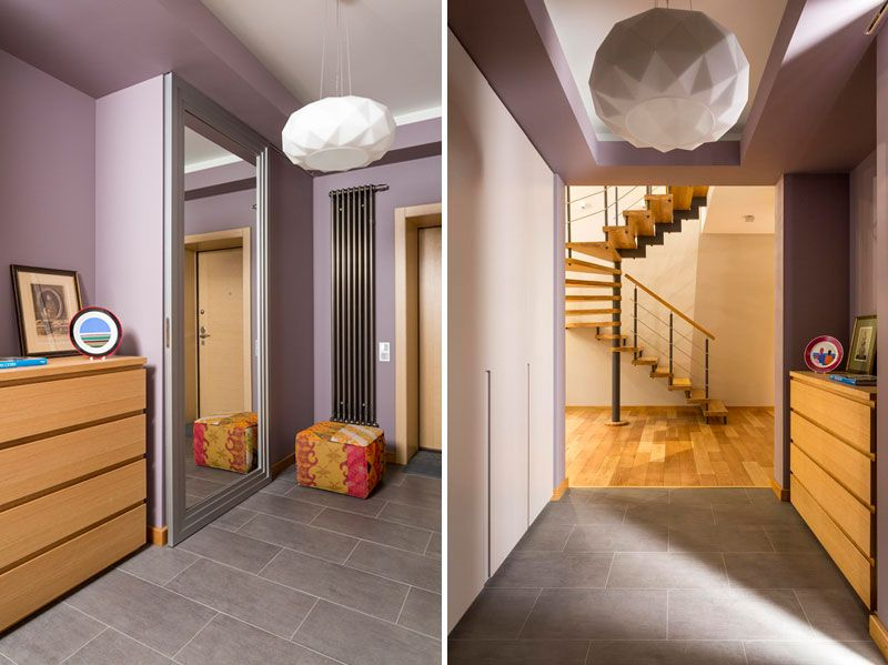 Fusion Style Interior Design for Two-Story House in Moscow ...