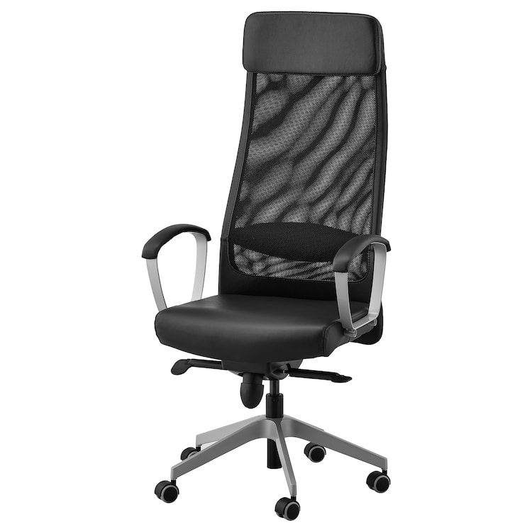Markus Office Chair Glose Black Robust Black Office Chair