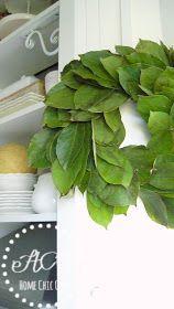 Photo of How to make fresh Magnolia Wreath