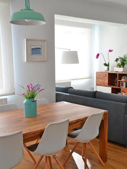 Una casa moderna decorada con estilo nrdico  Decoracin