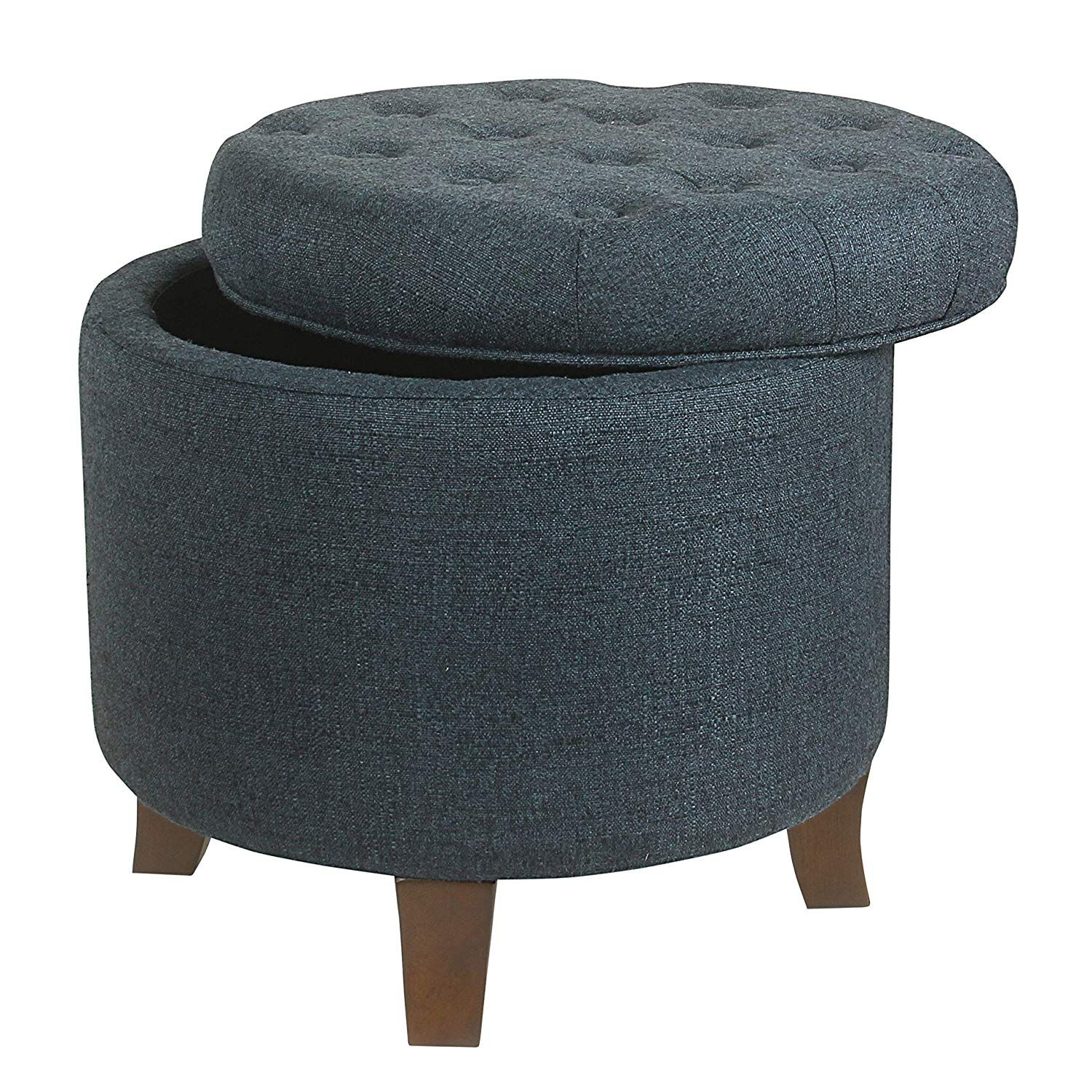 Fine Care 4 Home Llc Upholstered Tufted Storage Ottoman Round Unemploymentrelief Wooden Chair Designs For Living Room Unemploymentrelieforg