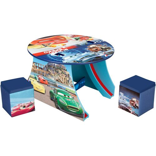 Images Of Disney Pixar Cars Activity Table | Disney Pixar Cars Table And  Ottoman Set