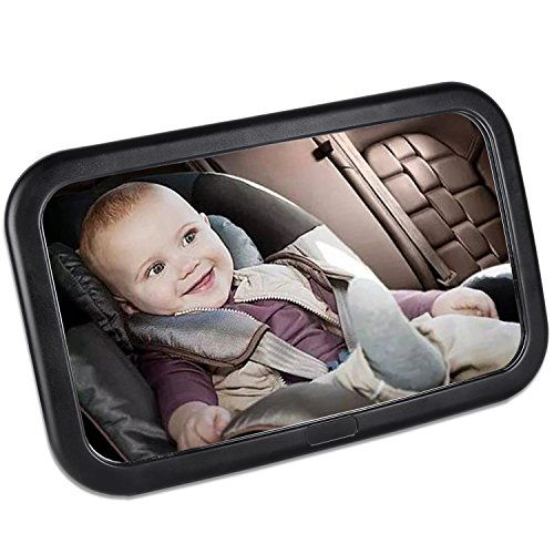 Semlos Baby Car Mirror for Back Seat Viewed Infant in Rear Facing ...