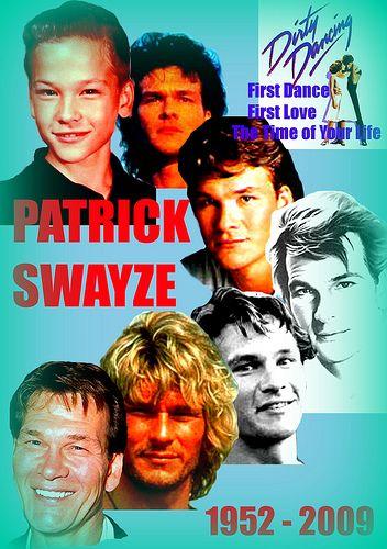 Patrick Swayze (1952 - 2009) by Greenman 2008