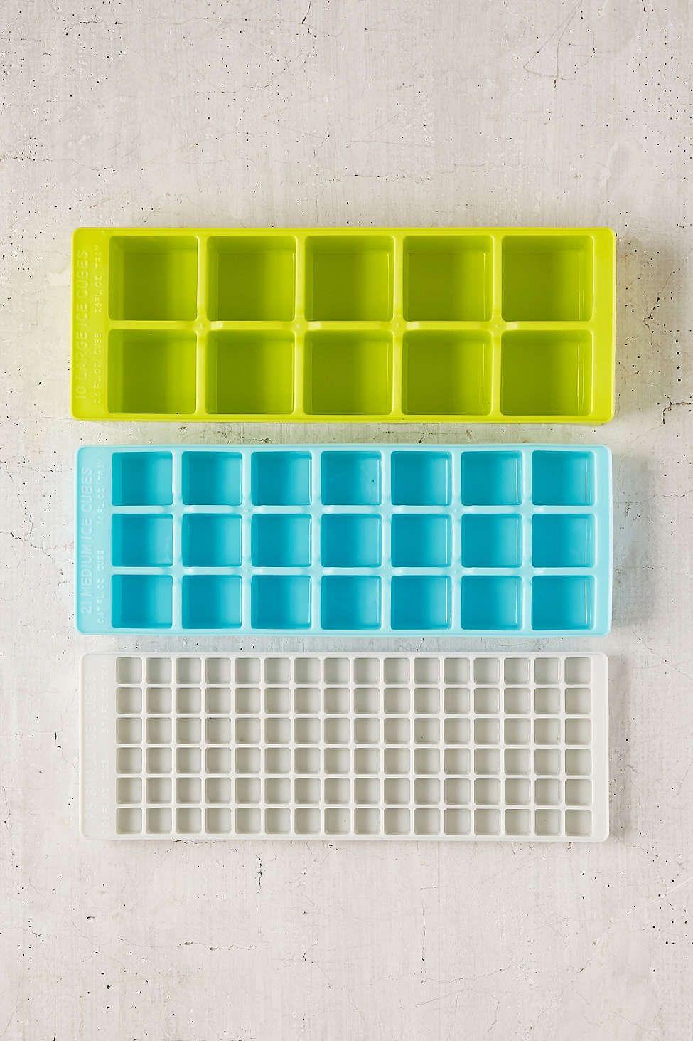 Multi-Pack Ice Tray Set | Ice tray, Trays and Flats