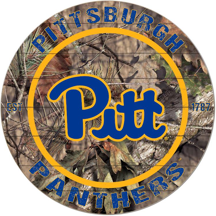 Official Pitt Panthers Circle Camo Sign The Official Store Of Pitt Athletics Pitt Panthers Panthers Pitt