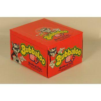 Bubbaloo STRAWBERRY - 60 PACK