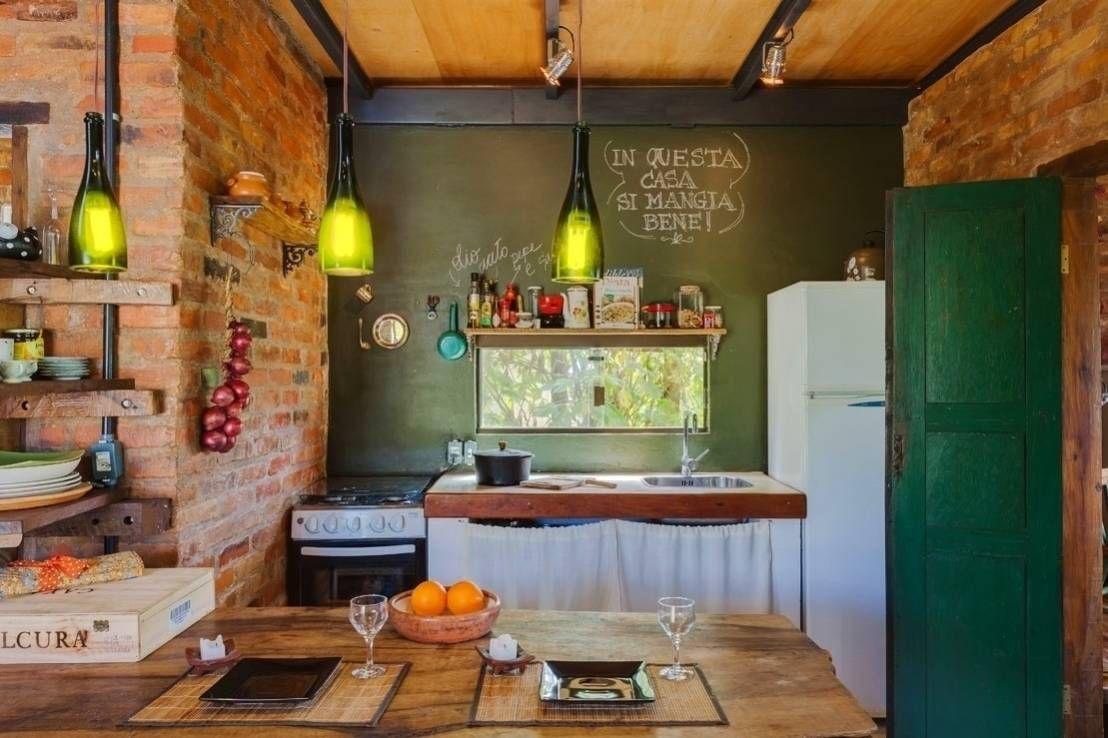 ideas para optimizar el espacio en una cocina pequeña hipster