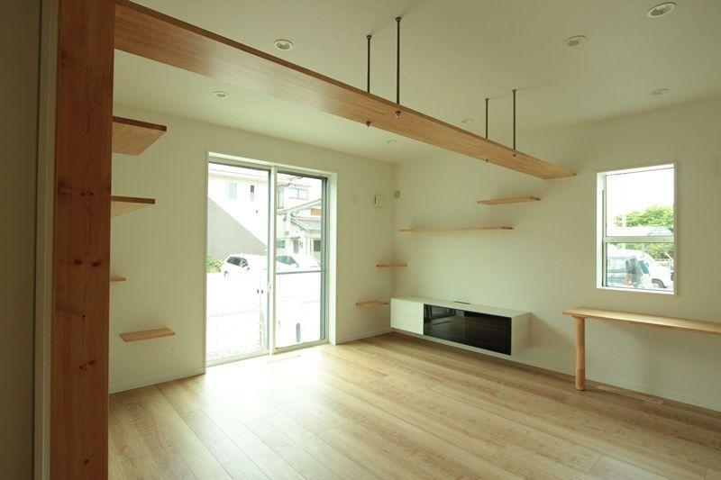 リビングにキャットウォークを設置しました ペットと暮らすおうち 浜松市の新築一戸建て注文住宅なら 宮下工務店 リフォーム インテリア 新しい家 一戸建て