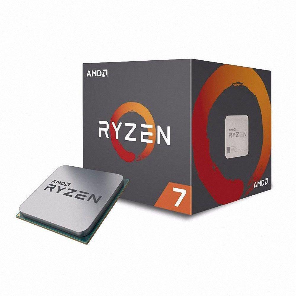 Amd Ryzen 7 2700x 8 Core 3 7ghz 16mb Socket Am4 105w Desktop Processor Cpu Amd