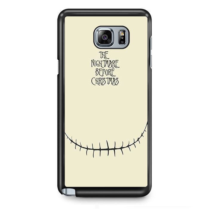 The Nightmare Before Christmas TATUM-10956 Samsung Phonecase Cover Samsung Galaxy Note 2 Note 3 Note 4 Note 5 Note Edge
