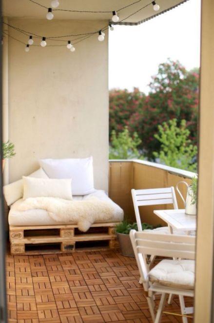 28 Best Inspiring Cozy Balcony Design Ideas | Apartment ...