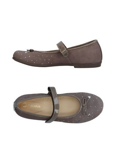 MELANIA Girl's' Ballet flats Dove grey 3.5Y US