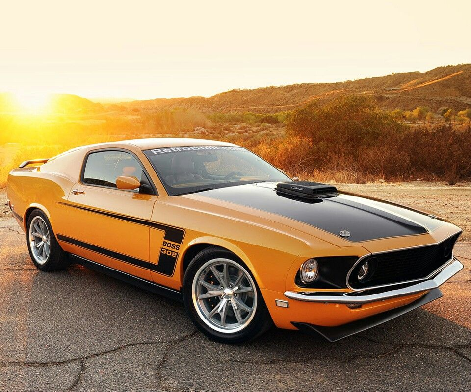 Classic Cars Muscle, 1969 Mustang