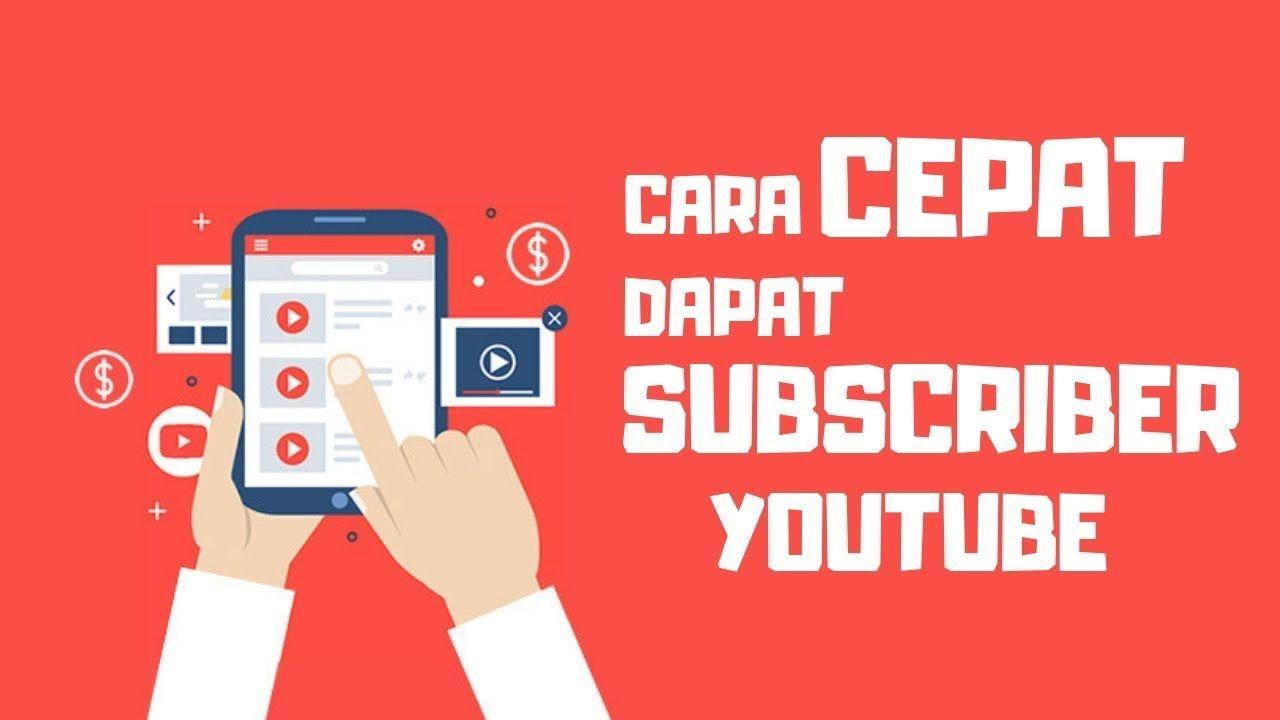 Cara Menambah Subscriber Youtube Dengan Cepat Youtube Video Science