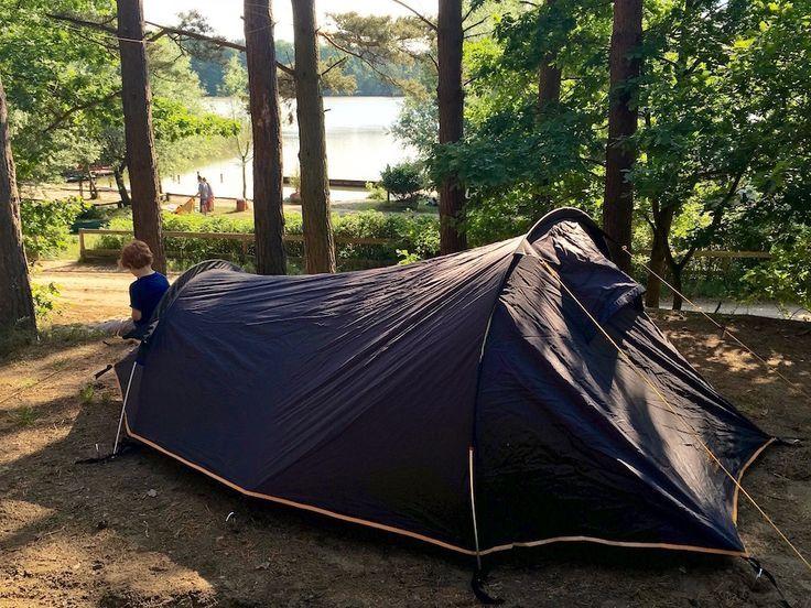 Mit Kind zelten Campingplatz Hexenwäldchen Müritz