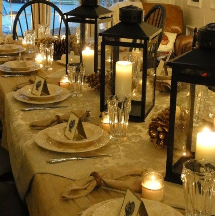 Thanksgiving Table Setting Ideas : thanksgiving table setting pinterest - pezcame.com