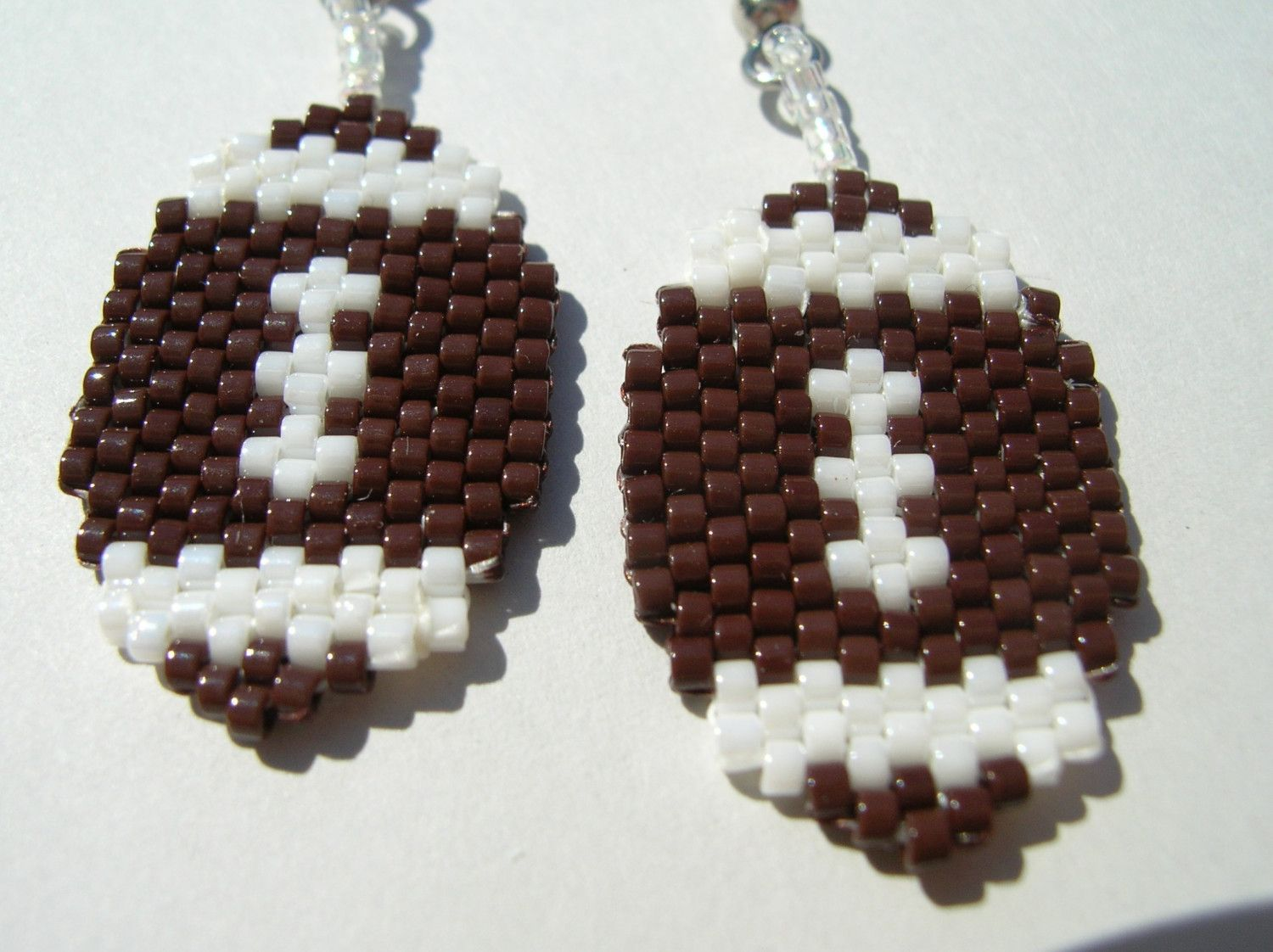 NFL Beaded Dangle Earrings
