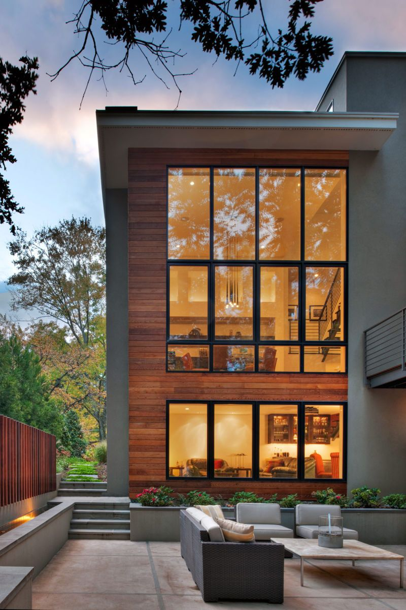 Modern Exterior Window Frame