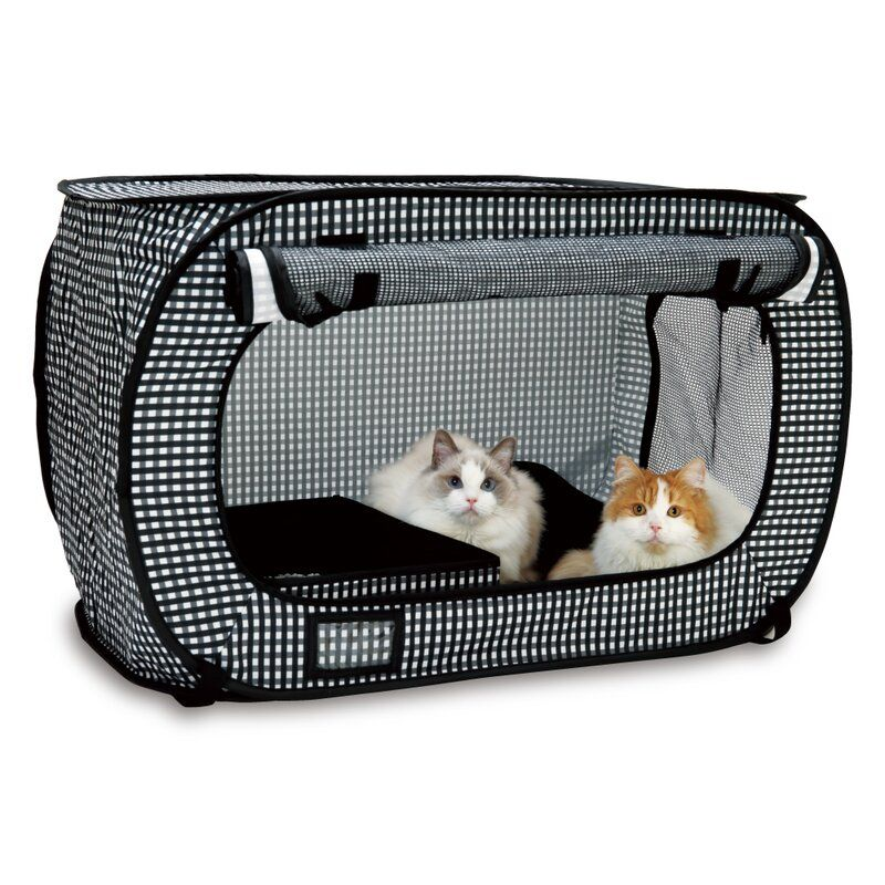 Pickell Portable Outdoor Cat Cage With Door Cat Cages Cat Crate Outdoor Cat Cage