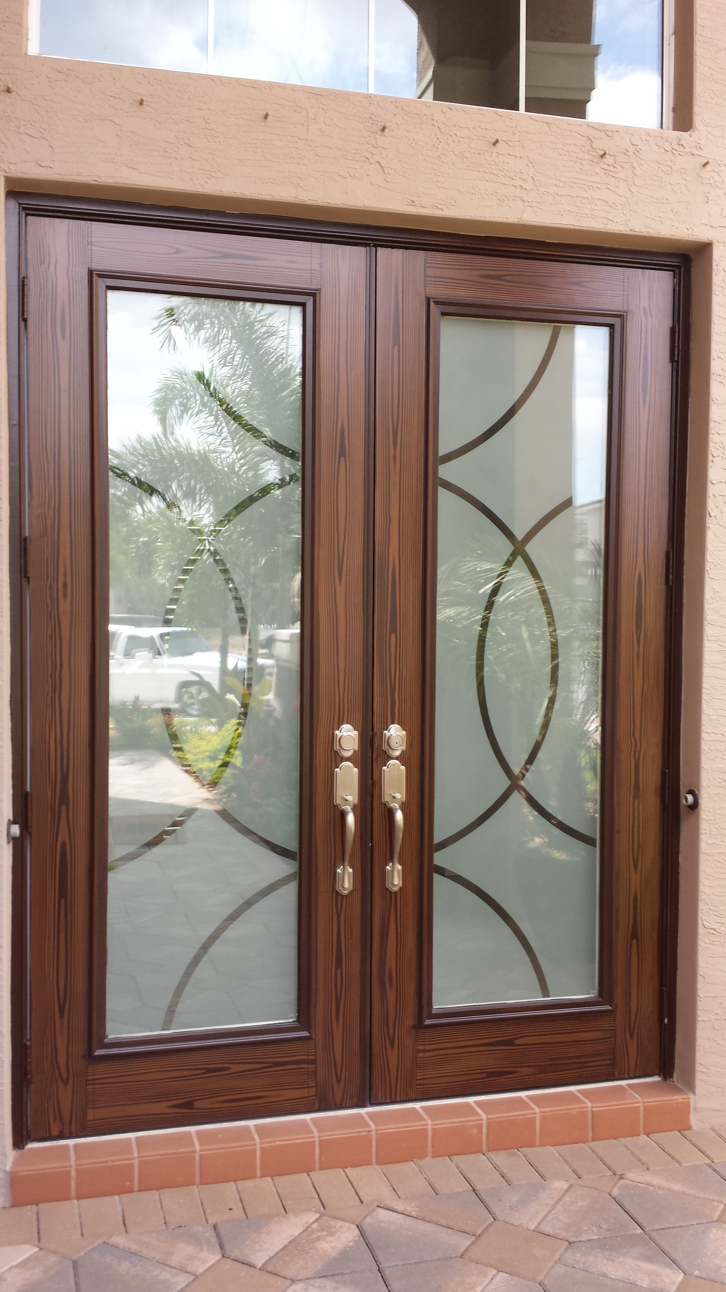 Feather River Doors 24 In X 80 In Privacy Smooth 1 Lite Primed Mdf Interior Door Slab Pn15012068e680 The Home Depot Glass Doors Interior Frosted Glass Interior Doors Doors Interior