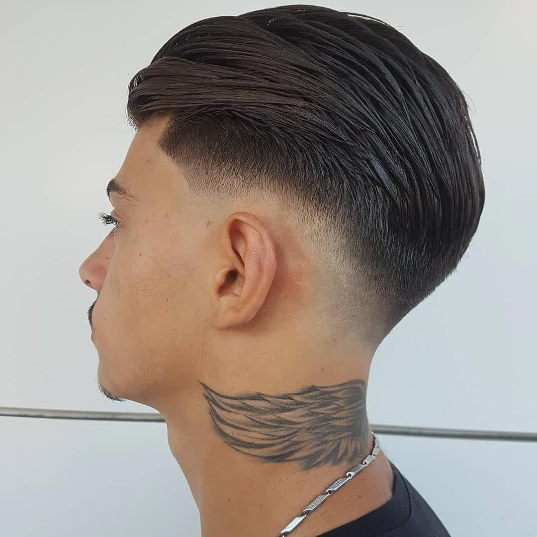 38++ Mens slicked back fade hairstyles inspirations