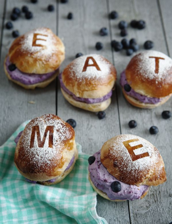 Blueberry Semla Ulrika Ekblom and Liselotte Forslin www.leparfait.se