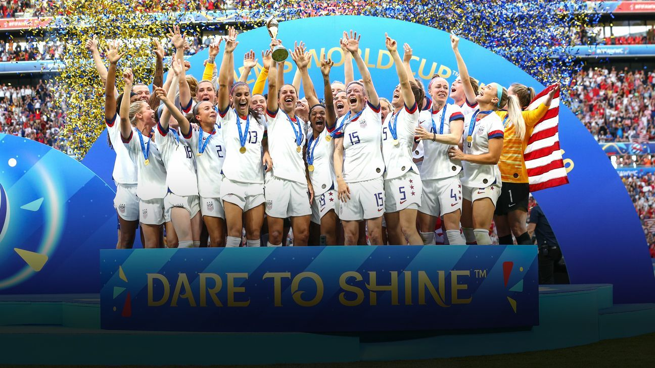 Megan Rapinoe Uswnt Repeat As World Cup Champs Fifa Women S World Cup Uswnt Megan Rapinoe