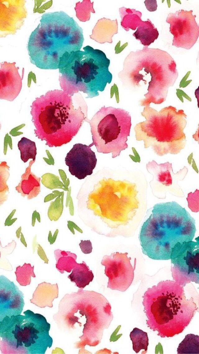 Iphone Wallpaper Tropical Floral Tjn Watercolor Wallpaper Iphone Floral Watercolor Iphone Wallpaper Tropical