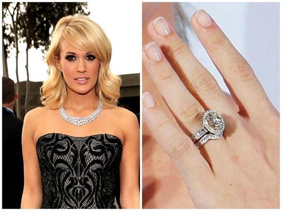 Carrie Underwood Carrie Underwood Wedding Ring Celebrity