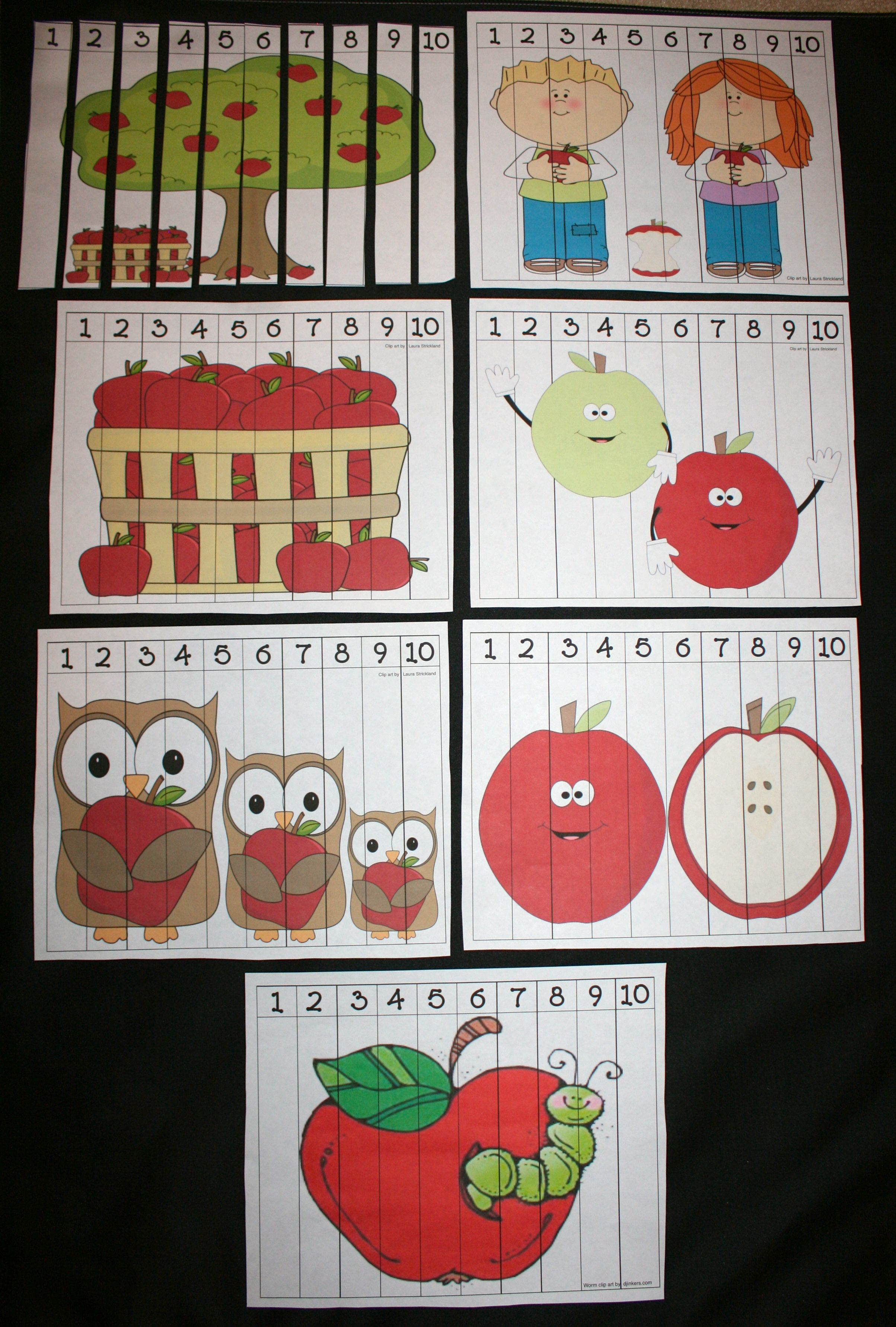 apple puzzles free puzzles apple activities apple lessons
