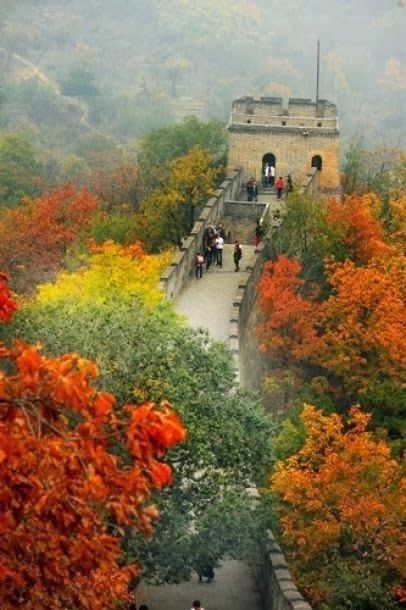 great wall of china in autumn great wall of china on great wall of china id=22657
