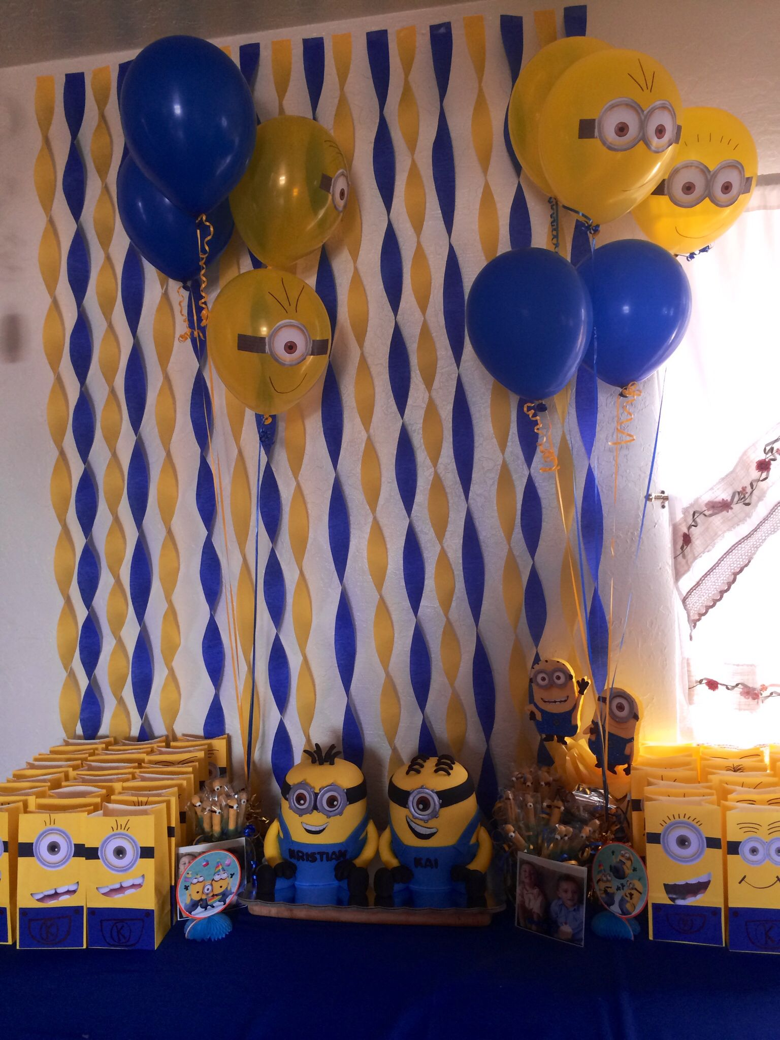 Despicable Me Party Party Ideas Pinterest Despicable Me Party