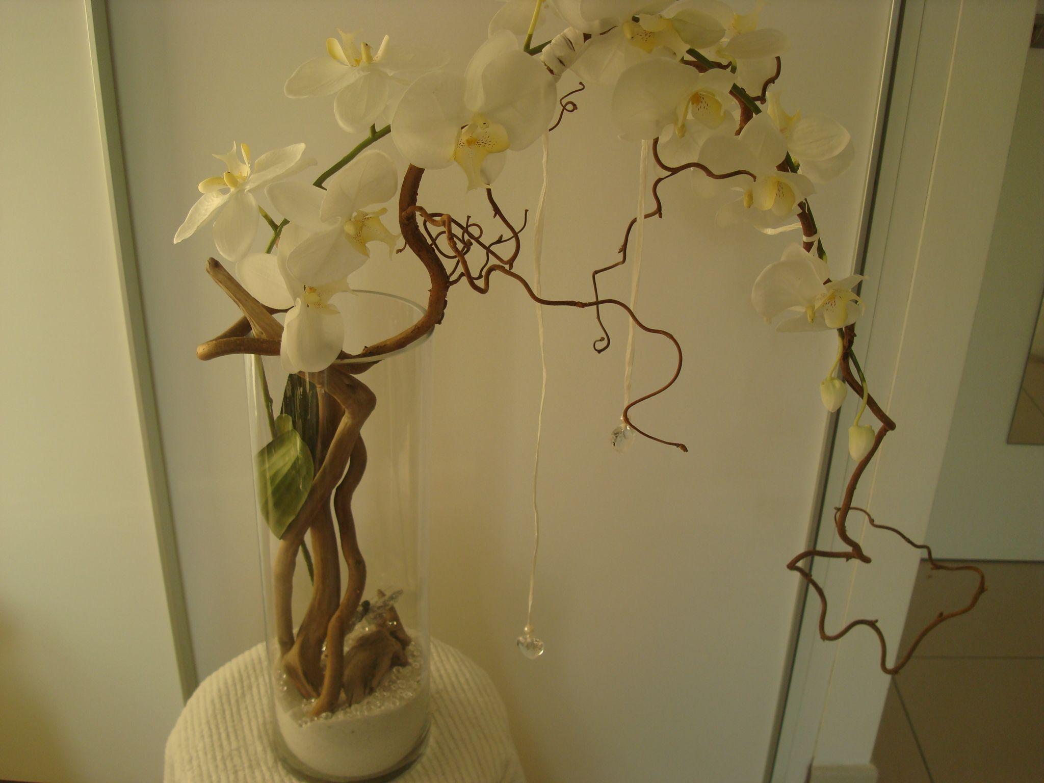 vase bois flotté orchidée | Mes petites Créa | Pinterest | Art ...