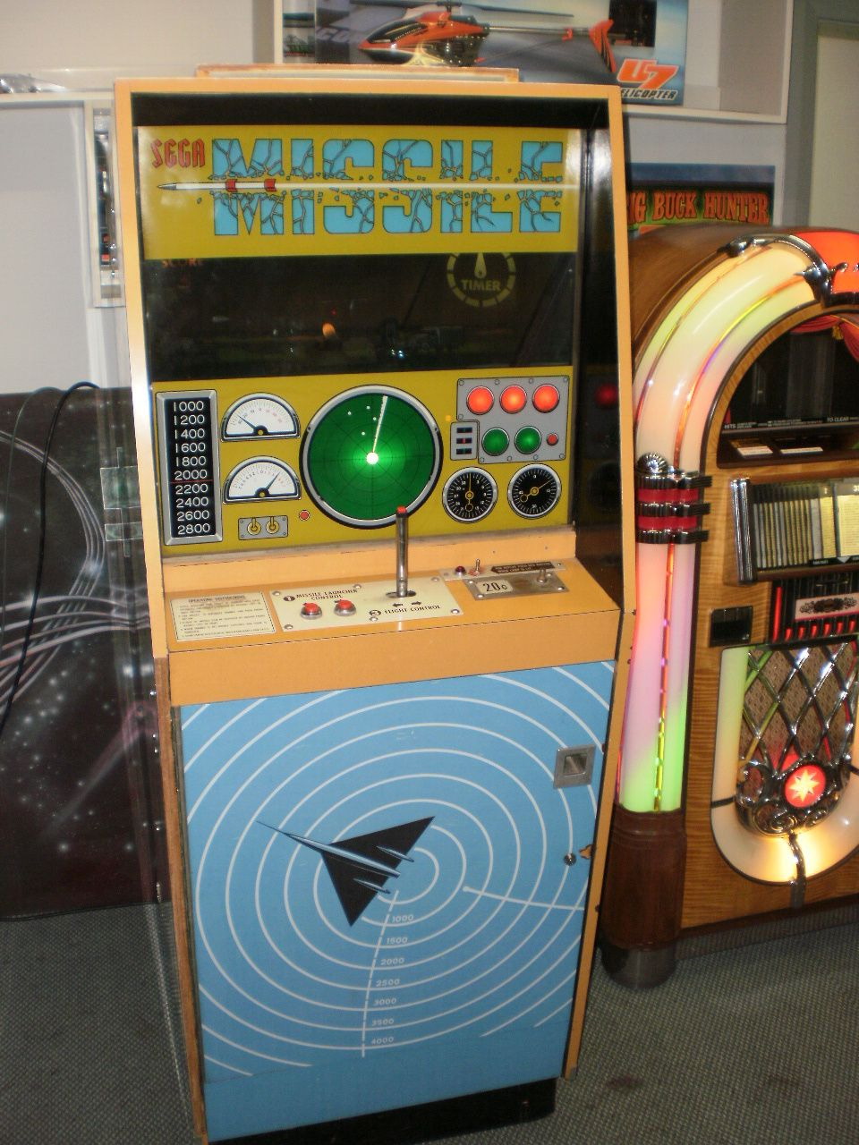 Missile Arcade, Arcade games, Retro gaming