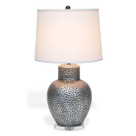 Glendale Pewter Lamp 33 H Lamp Option Lamp Port 68 Table Lamp