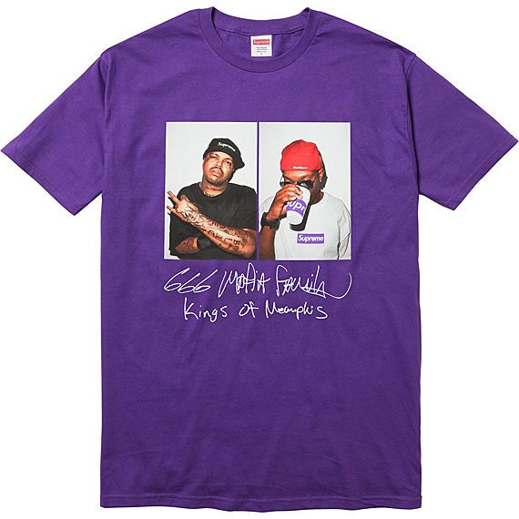 271f74e49937 Three 6 Mafia x Supreme | Clothing | Winter t shirts, Supreme t ...